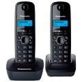 Радиотелефон DECT Panasonic KX-TG1612RUH Black