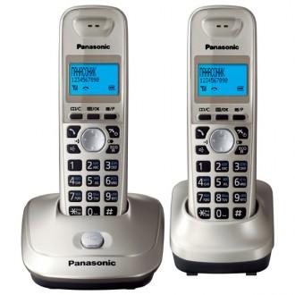 Радиотелефон DECT Panasonic KX-TG2512RUN Silver