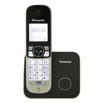 Радиотелефон DECT Panasonic KX-TG6811RUB