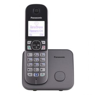 Радиотелефон DECT Panasonic KX-TG6811RUM
