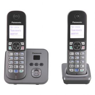 Радиотелефон DECT Panasonic KX-TG6822RUM