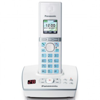 Радиотелефон DECT Panasonic KX-TG8061RUW White