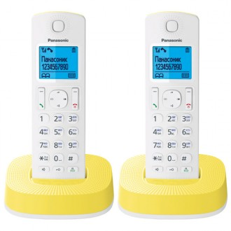 Радиотелефон DECT Panasonic KX-TGC312RUY