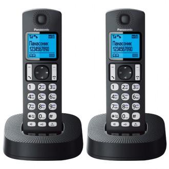 Радиотелефон DECT Panasonic KX-TGC322RU1 Black