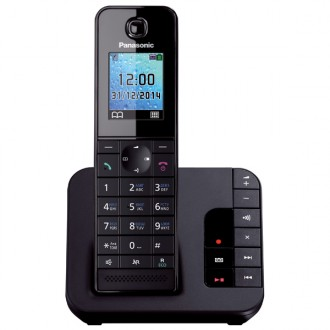 Радиотелефон DECT Panasonic KX-TGH220RUB