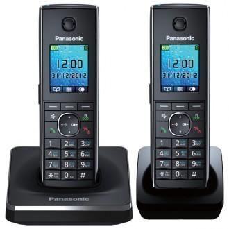 Радиотелефон DECT Panasonic KX-TG8552RUB