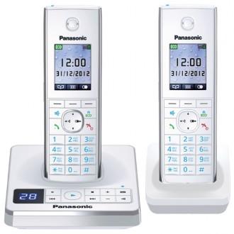 Радиотелефон Panasonic KX-TG8562  White