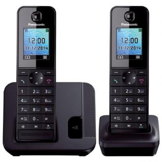 Радиотелефон DECT Panasonic KX-TGH212RUB