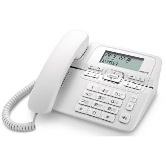 Телефон проводной Philips CRD200W/51