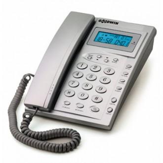 Проводной телефон Goodwin Азов TSV-2 с АОН Silver