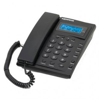 Телефон проводной Goodwin Азов TSV-2 c АОН антрацит