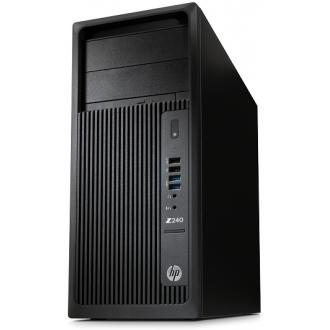 Системный блок HP Z240 MT  Black