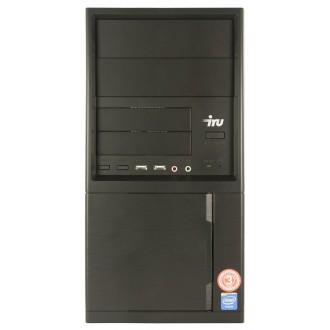 Системный блок IRU Office 310 Black