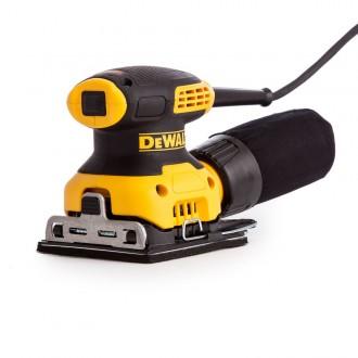 Виброшлифмашина DEWALT DWE6411-QS Yellow