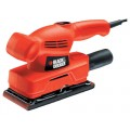 Виброшлифмашина BLACK & DECKER KA300-XK Orange
