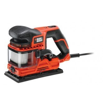 Виброшлифмашина BLACK & DECKER KA330E-QS Orange