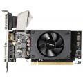 Видеокарта GIGABYTE GeForce GT 710 (GV-N710D3-1GL) (954Mhz/PCI-E 2.0/1024Mb/1800Mhz/64 bit/DVI/HDMI/HDCP) Ret