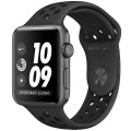 Смарт-часы Apple Watch S3 Nike+ 38mm MTF12RU/A SpaceGrey Al/Black Sport Band