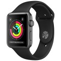 Смарт-часы Apple Watch Series 3 38mm MTF02RU/A Space Grey Aluminium Case with Black Sport Band